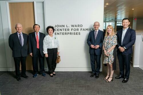 Tanoto Foundation Endowment Enables Renaming of Northwestern University's Kellogg Center for Family Enterprises to 'John L. Ward Center for Family Enterprises'