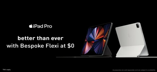 Score the New iPad Pro for $0 with M1's Fully Personalised Bespoke Flexi Plan
