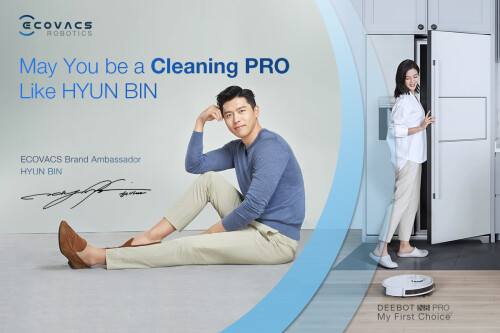 ECOVACS ROBOTICS Kicks Off May You be a Cleaning PRO like Hyun Bin Mid-Year Sale Campaign with Special Bundle of N8 PRO and Auto-Empty Station in Singapore