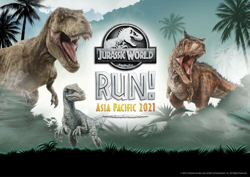 Jurassic World RUN! Asia Pacific 2021: First-Ever Jurassic World Virtual Run in Asia Pacific
