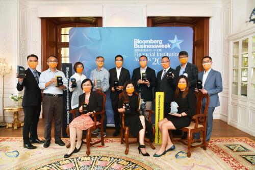 富衛於「彭博商業周刊金融機構大獎2021」刷新紀錄勇奪13項殊榮