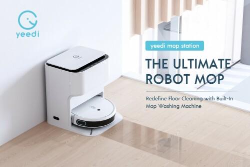 yeedi ridefinisce il mop robotico con il debutto della stazione yeedi mop |  Notizie di Taiwan