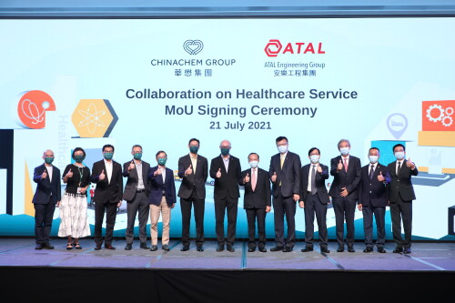 Chinachem Group and ATAL Engineering Group signs Memorandum of Understanding to foster collaboration on Healthcare Facilities Management