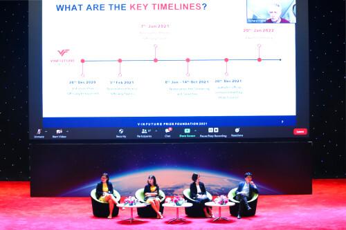 Vietnam's global Sci–Tech Vinfuture Prize begins pre-screening round