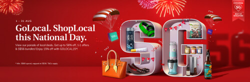 Show Local Businesses Your Support this National Day with iShopChangi's 'GoLocal, ShopLocal' Campaign