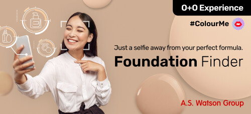 A.S. Watson Launches Foundation Finder AI Tool To Help Customers Find the Perfect Match
