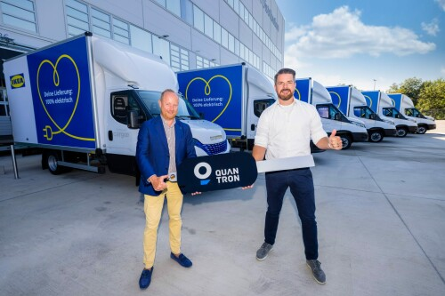 Quantron Supports IKEA's Emissions-free Delivery