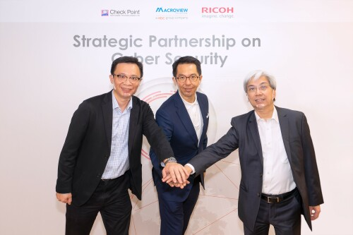 RICOH establishes strategic partnership with Macroview Telecom, a HGC Group Company and Check Point