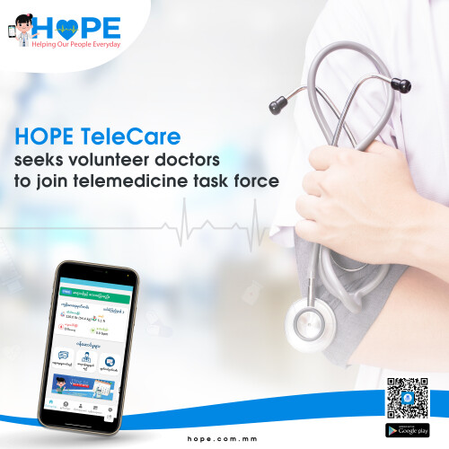 HOPE Telecare seeks volunteer doctors to join telemedicine task force, Offering free virtual medical consultation for the public