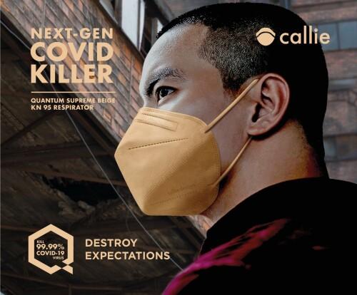Callie lance un masque révolutionnaire pour tuer les virus.