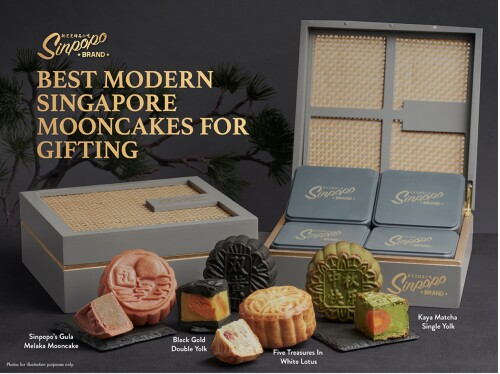Sinpopo Brand Unveils Its First Mid-Autumn Collection Featuring Modern Singapore Flavours Perfect For Gifting