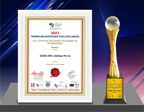 <div>GEODIS' Executive Leadership Program recognized as the best Asia's Training & Development Excellence Awards 2021</div>