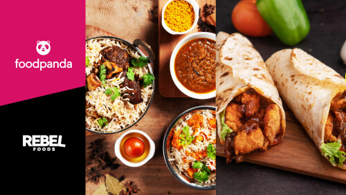 foodpanda and Rebel Foods launch Asia's largest virtual brands partnership