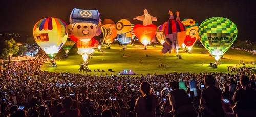Taiwan International Balloon Festival kicks off at Luye Highlands 1