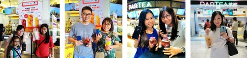 Huawei sweetens the weekend for its customers with free bubble tea and phone servicing