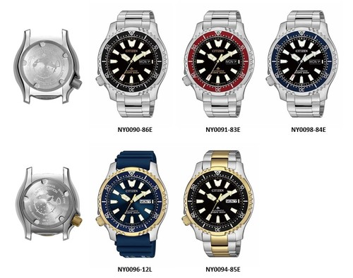 CITIZEN introduces the NY009 series 6