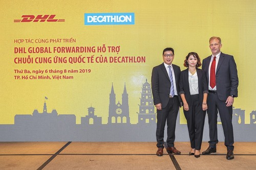 Partners for Growth: DHL Global Forwarding supports Decathlon's international supply chain