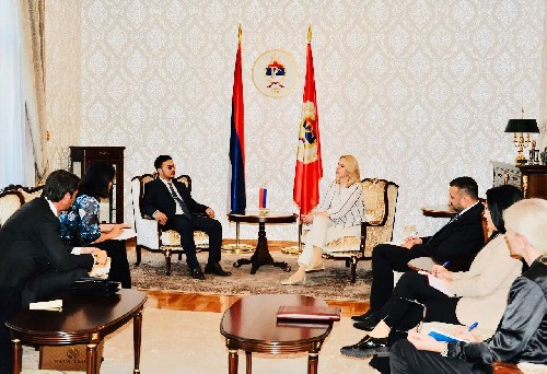 Srpska president discusses with billionaire Mai Vu Minh on investment cooperation