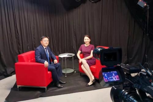 亞洲區塊鏈産業研究院陳柏琿院長接受陽光衛視專訪,暢談數字經濟