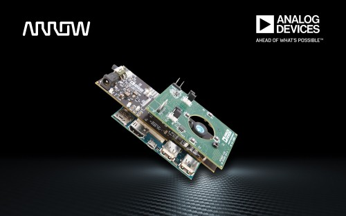 Arrow Electronics introduces first healthcare-focused proof-of-concept design incorporating Analog Devices' 3D time-of-flight technology