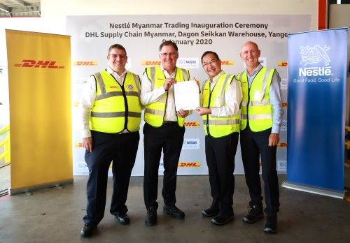 Nestlé hands DHL Supply Chain contract to manage entire warehousing operations in Myanmar
