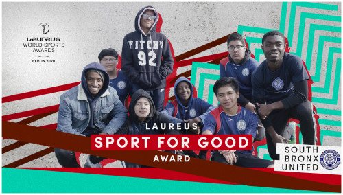 South Bronx United Win 2020 Laureus Sport for Good Award