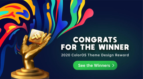 2020 OPPO Overseas Theme design competition winners announced