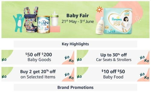 Amazon Singapore Launches First Online Baby Fair and #TheAmazingBabies Contest