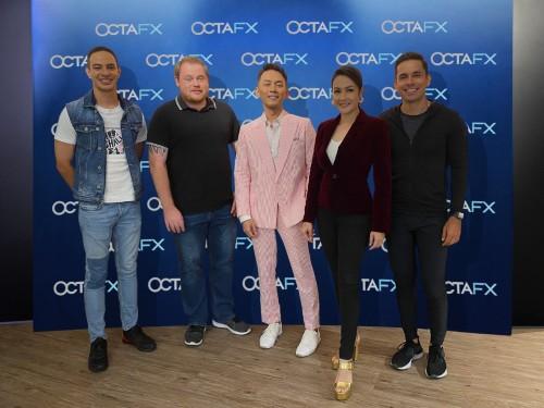 Malaysian celebrities battle on the Forex market in OctaFX Youtube Series