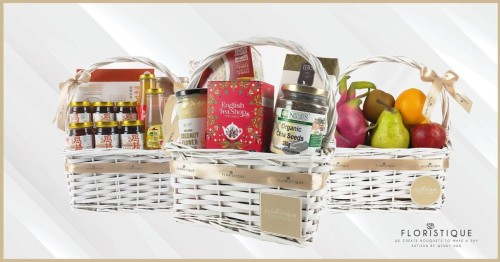 Online Singaporean Florist, Floristique Boosts Spirits and Immunity with New Line of Affordable Welfare Hampers