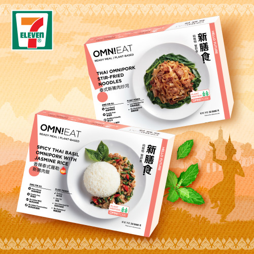 7-Eleven launches two new vegan ready-to-eat meals from OmniEat
