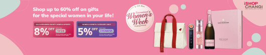 Make This International Women's Week Unforgettable with iShopChangi's Exclusive Discounts and Promotions