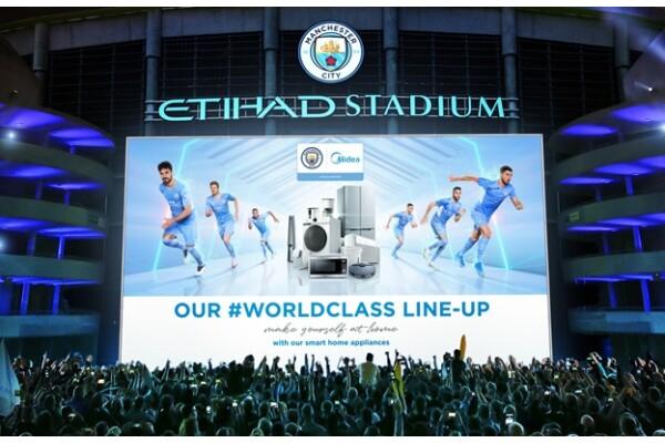 Midea và Câu lạc bộ bóng đá Manchester City (Anh) tiếp tục nâng cao hơn quan hệ đối tác toàn cầu giữa 2 bên