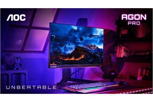 Công ty cung cấp màn hình chơi game số 1 thế giới AOC ra mắt dòng AGON 4 dành cho các game thủ cao cấp