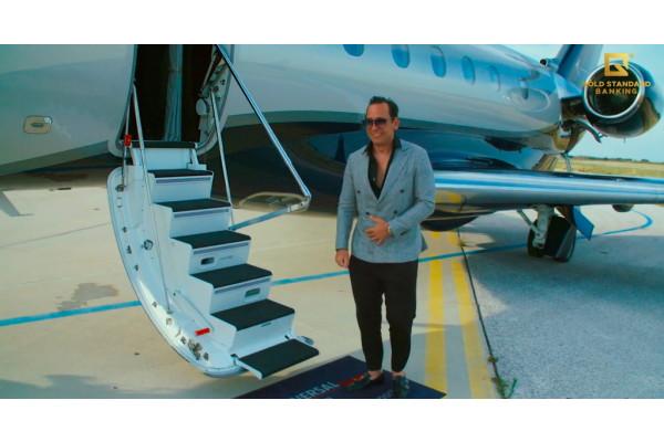 GSB Gold Standard Corporation AG và SPREE FLUG Luftfahrt khai thác tốt máy bay riêng Embraer