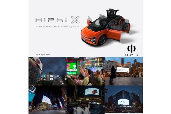 Xe thể thao đa dụng (SUV) cao cấp chạy điện HiPhi X sẽ được bán trên thị trường vào nửa đầu năm 2021