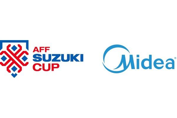 Midea trở thành nhà tài trợ chính thức của Giải vô địch bóng đá Đông Nam Á – AFF Suzuki Cup 2020