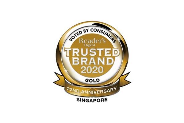 Hơn 100 thương hiệu Singapore giành được Giải thưởng Thương hiệu đáng tin cậy Reader's Digest 2020