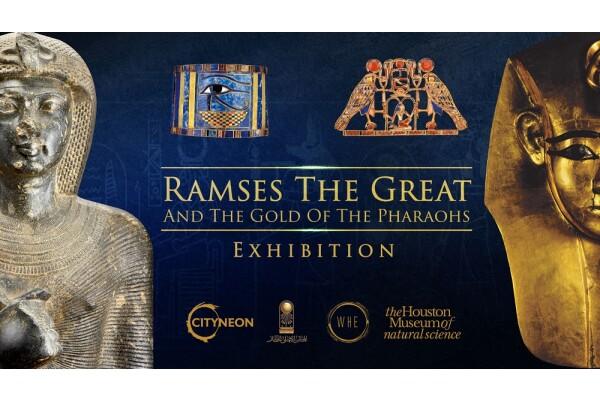 Cityneon và Bảo tàng Houston sẽ trưng bày 183 hiện vật quý hiếm từ thời pharaoh Ramses Đại đế (Ai Cập)