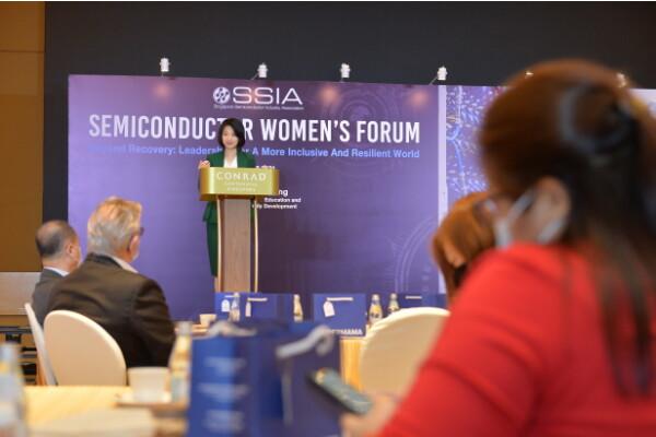 Diễn đàn công nghiệp bán dẫn của phụ nữ lần đầu tiên được tổ chức ở Singapore theo sáng kiến của SSIA