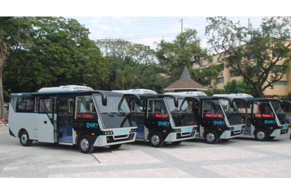 Công ty China Dynamics sẽ cung cấp ít nhất 500 xe bus điện cho Philippines và Malaysia