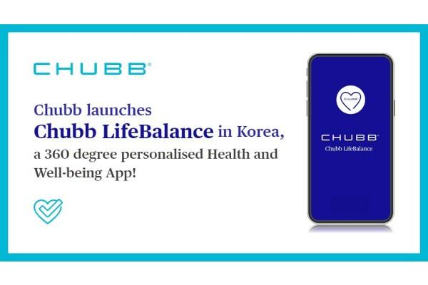 Chubb chính thức ra mắt ứng dụng chăm sóc sức khỏe số Chubb LifeBalance ở Hàn Quốc
