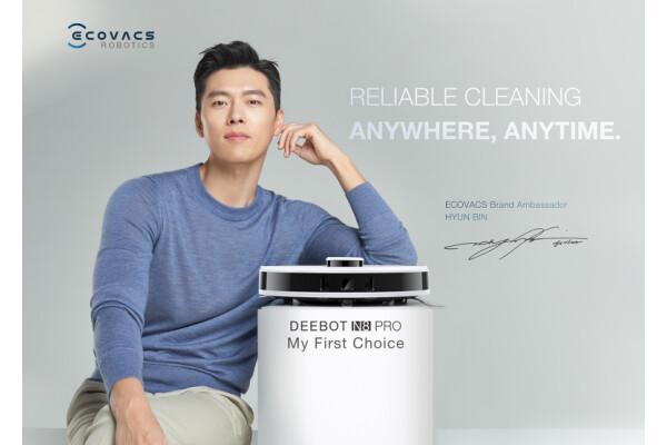 Diễn viên điện ảnh Hàn Quốc Hyun Bin được ECOVACS ROBOTICS chọn làm Đại sứ thương hiệu tại Singapore