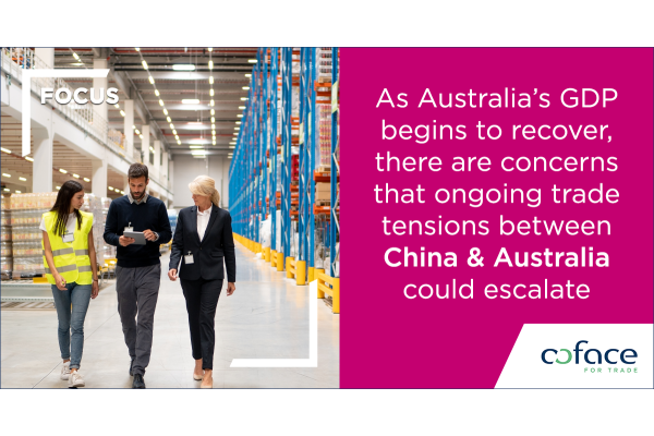 COFACE nhận định về mối quan hệ thương mại giữa Australia và Trung Quốc