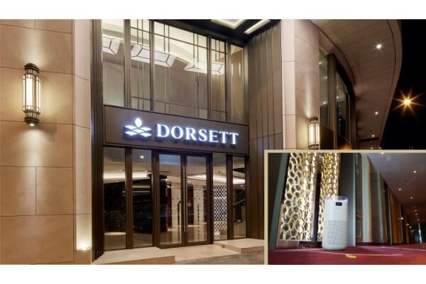 9 khách sạn của Dorsett Hospitality International ở Hồng Kông lắp đặt máy lọc không khí dành cho khách