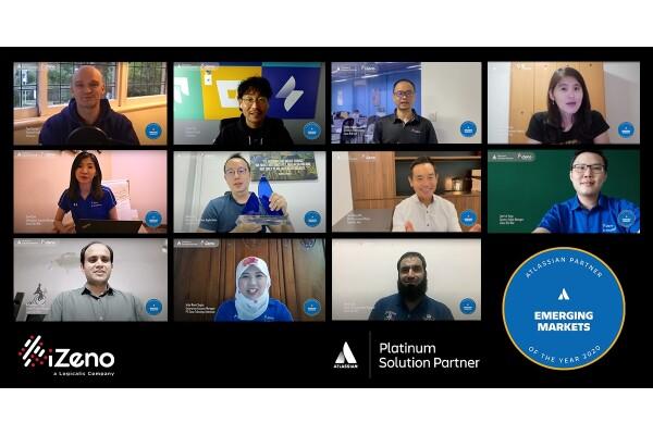 iZeno được nhận Giải thưởng Đối tác Atlassian của Năm 2020: Thị trường mới nổi