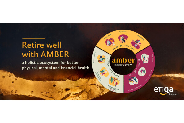 AMBER by Etiqa – hệ sinh thái hưu trí hỗ trợ khách hàng về mọi mặt của cuộc sống – ra mắt tại Singapore