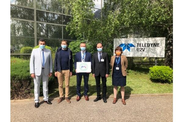 Teledyne e2v nâng cấp phòng sạch lắp ráp và thử nghiệm các thiết bị bán dẫn tại Grenoble (Pháp)