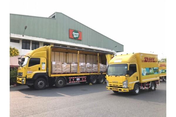 DHL Supply Chain hợp tác với Green Spot vận chuyển 250.000 sản phẩm sữa cho các bệnh viện ở Thái Lan