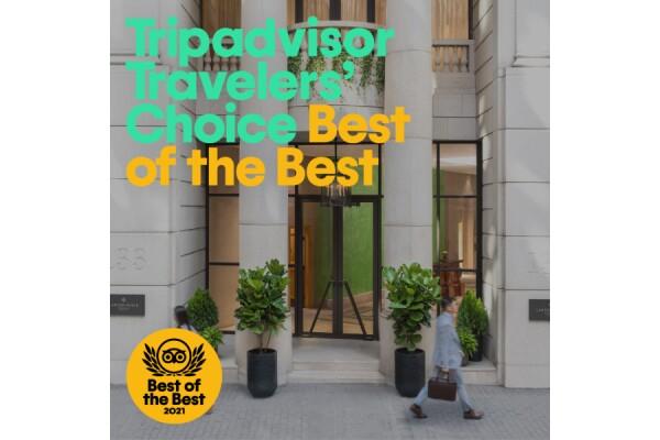 5 khách sạn, căn hộ dịch vụ của Lanson Place được nhận Giải thưởng Tripadvisor Traveller's Choice năm 2021